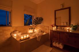 candle lit bedroom bubble bath and candles a hangover free life