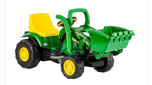 peg perego john deere mini power loader by peg perego youtube