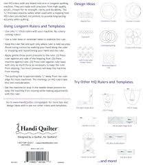 longarm quilting templates erica u0027s craft u0026 sewing center