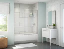 bath closet pinterest tub shower combo glass doors and doors bathok