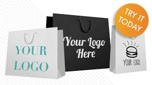 Bag Design Printed Paper Bags With Handles Design Your Bags Online
