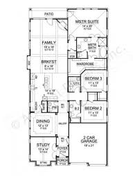 Narrow House Plans With Garage Granite Peak Ranch Floor Plans Narrow Floor Plans