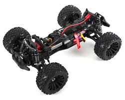 blue thunder monster truck videos terremoto 10 v2 brushless 1 10 monster truck blue by redcat