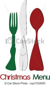 vector clipart of italian christmas menu csp11124301 search