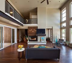 architecture wood plank floor and wide window decor also sliding