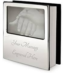 engravable photo album personalised silver cross 6x4 photo album free engraving