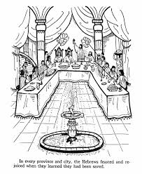 ester bible story coloring page pre k sunday pinterest
