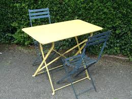 metal folding table outdoor folding metal table goodna info