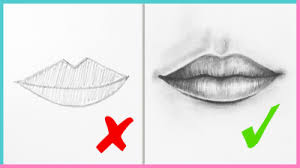 dos u0026 don u0027ts how to draw realistic lips u0026 the mouth step by step