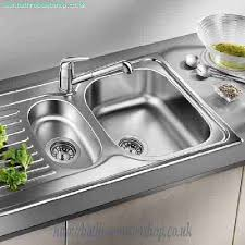 Stainless Steel Kitchen Sinks BLANCO Tipo  S Basic Stainless - Kitchen sink waste fittings