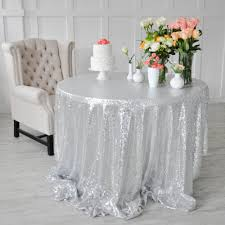 48 Round Tablecloth Online Get Cheap Glitter Round Tablecloth Aliexpress Com