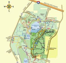 New York Thruway Map by Dog Friendly Parks Mendon Ponds Park
