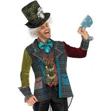 deluxe mad hatter 3 piece costume for men halloween costumes for men