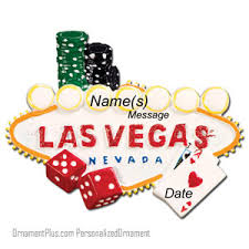 buy las vegas ornament personalized ornament from a large