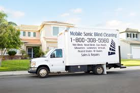 home mobile sonic blind cleaning
