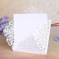Wedding Decor Business Cards 43color Laser Cut Vine Flower Wedding Invitations Card 120pcs