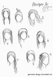 anime ponytail hairstyles drawing wwwgalleryhipcom the hippest