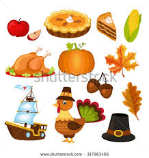 thanksgiving icons free vector 123freevectors