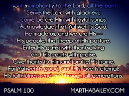 come before him with thanksgiving god is not limited by my bad attitude