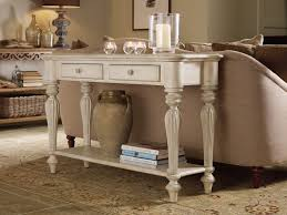Foyer Table With Drawers Primrose Hill Two Drawer Sofa Table Trellis White Console Sofa