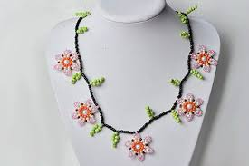 make necklace from beads images Instructions on how to make cheap flower seed beads necklace for girls jpg