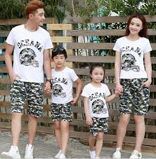 wholesale boy family matching summer cotton