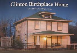 Bill Clinton Hometown by Basic Information President William Jefferson Clinton Birthplace