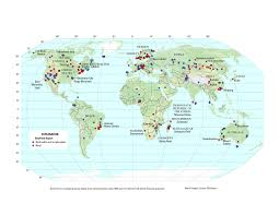 map of be beryllium economic geology material flow and global importance