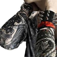 6pcs cool tattoo arm sleeves kit creative design tattoos sleeve