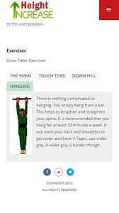 how to grow taller in a week height increase exercises android apps on google play