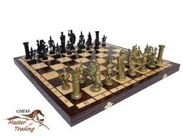 decorative chess set sparta decorative wooden chess set 50x50 great chessboard