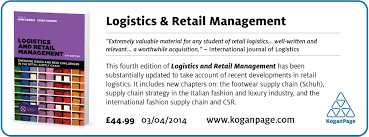 logistics and retail management book stirlingretail