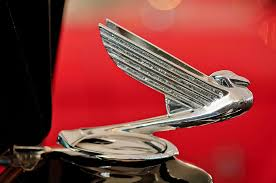 1935 chevrolet eagle ornament photograph by reger