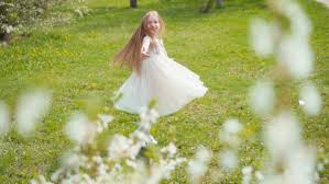 peasant happy in a meadow manifested an expression of joy and