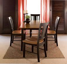 Dining Room Chairs Set Of 4 Dining Room Drop Butterfly Leaf Table And Chair Set For Dining