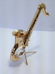 gold plated saxophone spectra lite catcher by