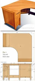 Computer Desk Plan Desk Wood Computer Desk Plans