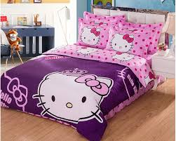 Pink Full Size Comforter Terrific Hello Kitty Bedroom Set Queen High Quality Hello Kitty