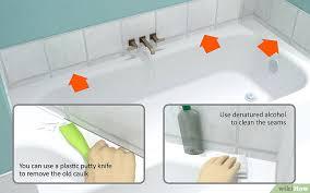 rimozione vasca da bagno come sigillare la vasca da bagno 10 passaggi