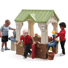 outside playhouse plans 2x2 lumber projects ana white playhouse kids indoor wooden