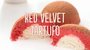 red velvet tartufo recipe tastemade