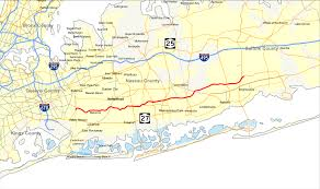 Map Of Hamptons New York by Southern State Parkway Wikipedia