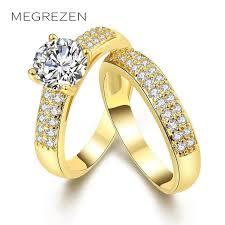 Wedding Rings For Girls by Twin Ring Best Gifts For Girls Double Rings For Women Gold Color