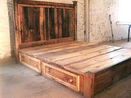 Diy Bed Frame Ideas Rustic Bed Frames U2013 Tappy Co