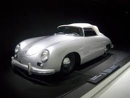 Porsche 1954 1954 Porsche 356 Speedster Prototype Museum Exhibit