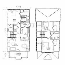 One Room Cottage Floor Plans Home Design One Floor Contemporary 4 Room House Plans Decor