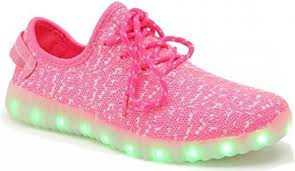 size 5 light up shoes glidekicks led light up shoes trainers 11 color patterns usb