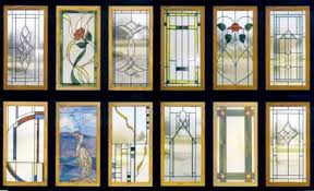Glass Designs For Kitchen Cabinets Stained Glass Kitchen Cabinets Cabinet Door Designs In Stained