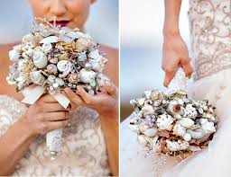 Seashell Bouquet Seashell Bouquet Marie Labbancz Photography