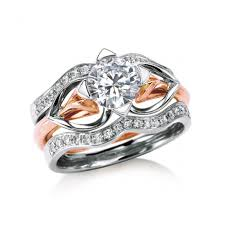 rings with bands images Romm diamonds maevona bridal diamond engagement rings and jpg